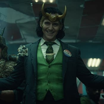 Loki Poster Finds The God of Mischief Large But Not Quite In Charge