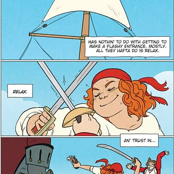Pirates Anne Bonny and Mary Read Get A Graphic Novel Tell No Tales