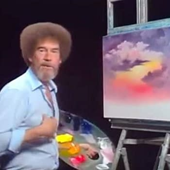 Wheres My Biopic Celebrating the Joy of Paintings Bob Ross