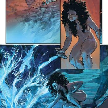 First Look: Witchblade 1/2 Reveals First Cavewoman Witchblade Bearer