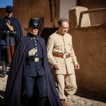 Waiting for The Barbarians: Prod Designer Crispian Sallis Talks Film