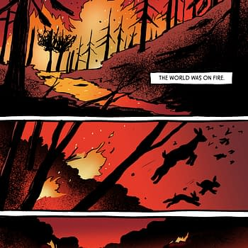Breena Bard Sells Graphic Novel Wildfire to Little Brown