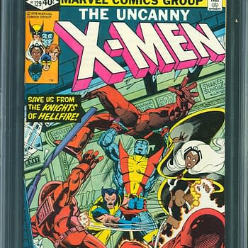 X-Men #129 Highest Graded CGC Copy On Auction At ComicConnect