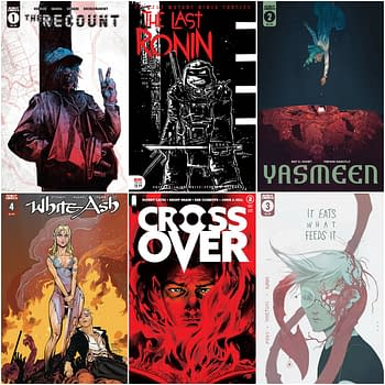 Last Ronin Crossover Once &#038 Future Scout Comics Get More Printings
