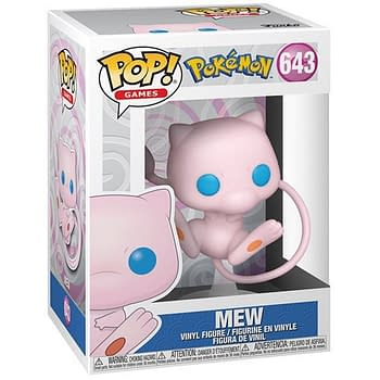 New Pokemon Funko Pops Revealed and Mew Has Arrived