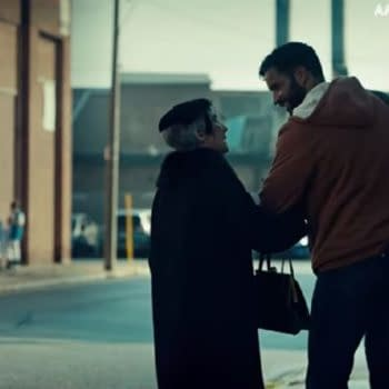 American Gods released a preview from the season-opener. (Image: STARZ)