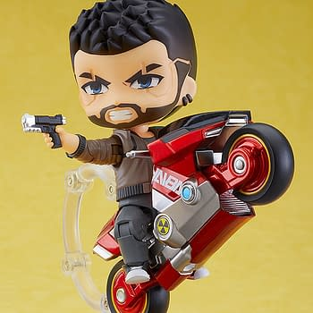 Cyberpunk 2077 V-Male Nendoroid Arrives at Good Smile