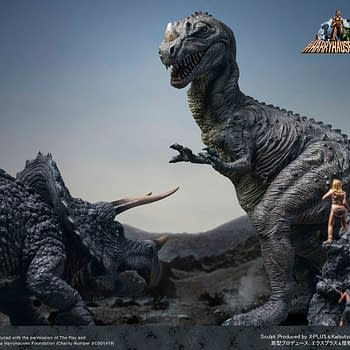 One Million Years BC Dinosaur Comes to Life with New Star Ace Statue