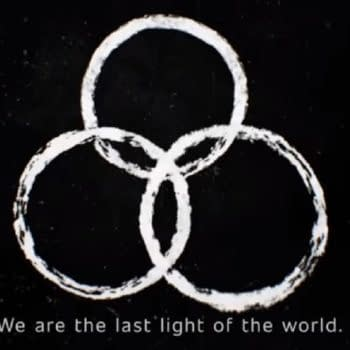 The Walking Dead: World Beyond: CRM issues season2 warning. (Image: AMC screencap)