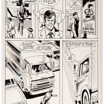 Curt Swan and Murphy Anderson Superman Original Art Auctioning Cheap