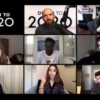 Death to 2020 cast talk the year that we wished wasn't. (Image: Netflix screencap)