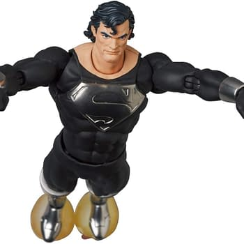 Superman Comes Back From the Dead With New MAFEX From Medicom