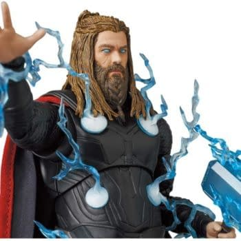 Thor Embraces the Storm With New Avengers: Endgame MAFEX Figure
