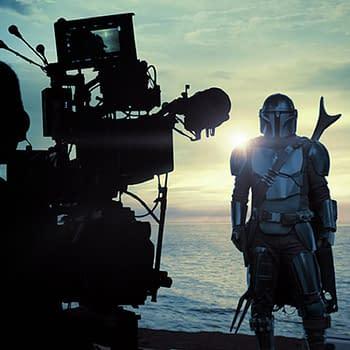 The Mandalorian Season 2 Goes Gallery Robert Rodriguez/Baby Yoda Jam