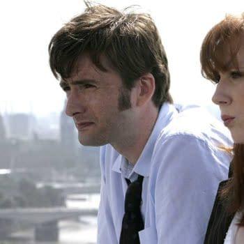 "Doctor Who ""The Runaway Bride"" (Image: BBC)"