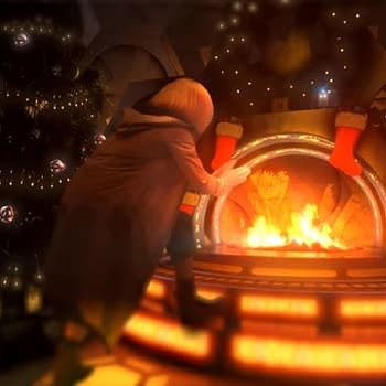 Doctor Who Festive Holiday Yule Log Sets Right Mood for a Revolution