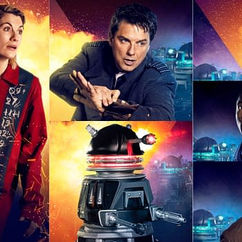 Doctor Who Revolution of the Daleks Releases New Images Posters