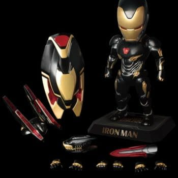 Iron Man Goes Black and Gold With Beast Kingdom