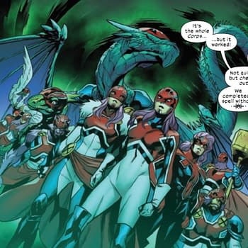 Almost All Captain Britains Are Women Now Excalibur #16 Lays It Out