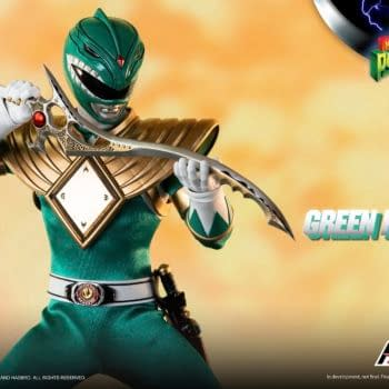 """Tommy Oliver is Back with New Power Rangers threezero 12"""" Figure"""
