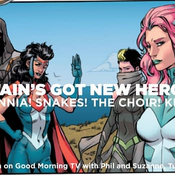 Piers Morgan British Guide To Marvel Comics The Union #1 (Spoilers)