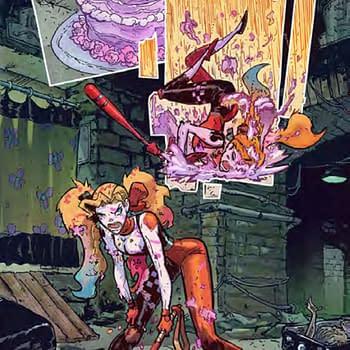 Riley Rossmos Messed-Up Gotham In Harley Quinn #1 Sneak Peek