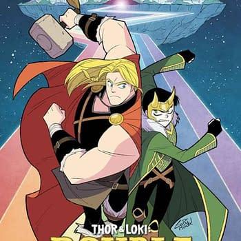 Mariko Tamaki and Gurihiru Create Thor &#038 Loki: Double Trouble
