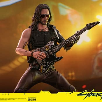 Cyberpunk 2077 Joins Hot Toys With 1/6 Johnny Silverhand Figure