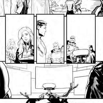 Sneek Peek at Brian Bendis and David Marquez Justice League