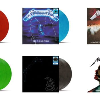 Metallica Releasing Six Classic Albums As Colored Vinyls At Walmart