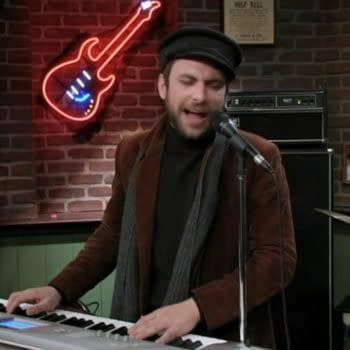 It's Always Sunny in Philadelphia star Charlie Day wrapped up the year with music. (Image; FX Networks)