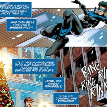 Does Nightwing #76 Openly Criticise DC Comics Owners Warners/AT&T?