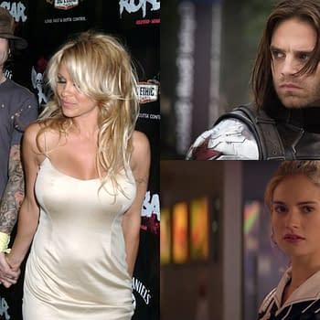 Sebastian Stan as Tommy Lee Lily James as Pamela Anderson for Hulu