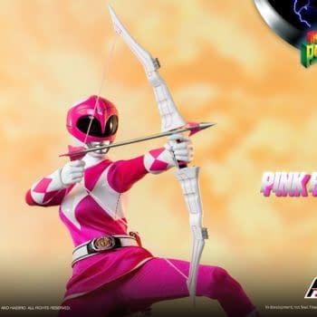 Power Rangers Pink Ranger Takes Her Shot With Hasbro and threezero
