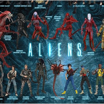 NECA Shows Off Their Alien Xenomorph Collection with New Visual Guide