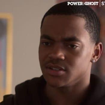 Power returns to STARZ this weekend (Image: screencap)