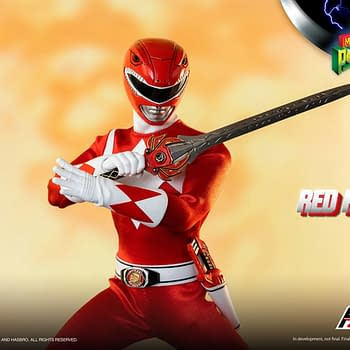 Red Ranger Morphs into Action with threezeros Power Rangers Reveal