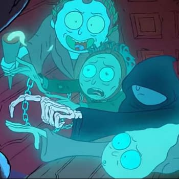 Rick Aint Afraid of No Ghosts in New Rick and Morty Holiday Promo