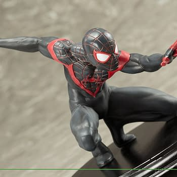 Spider-Man Miles Morales Swings on in With New Kotobukiya Statue