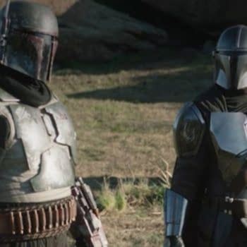 The Mandalorian: It's Monday So You Know What THAT Means, Boba Fett (Image: Disney+)
