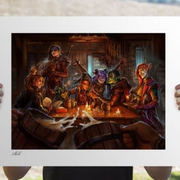 Critical Role and Sideshow Kick Off Second Campaign With Art Print