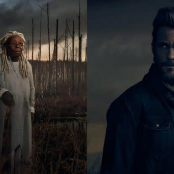 The Stand previews the standoff between Mother Abagail and Randall Flagg (Images: CBS All Access)