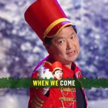 The Masked Singer has a holiday special this week (Image: FOX screencap)