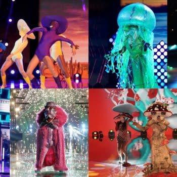 "The Masked Singer Season 4 ""Super Six"" (Images: FOXTV)"