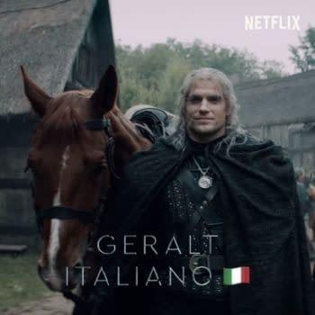 "The Witcher proves Geralt's ""Hmmm"" is an international language. (Image: Netflix screencap)"