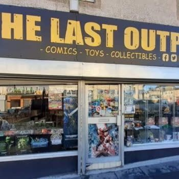 Scotland Comic Shops In Full Lockdown - No Curbside/Click And Collect
