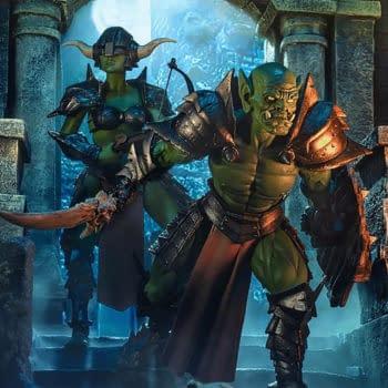 Mythic Legions Tactics Deluxe Orc Builder Figure Sets Coming Soon