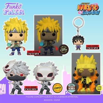 Naruto Shippuden Makes an Appearance at Funko Fair 2021