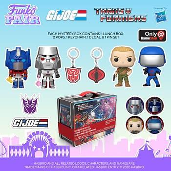 Transformers Take on G.I. Joe With New Funko Mystery Box