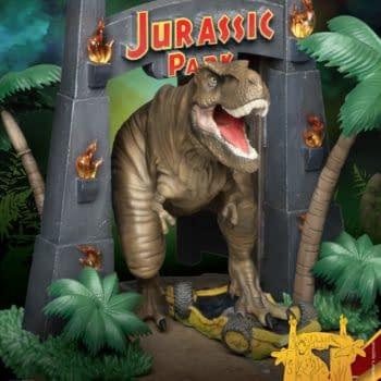 Jurassic Park Gets a New Prehistoric Statue From Beast Kingdom
